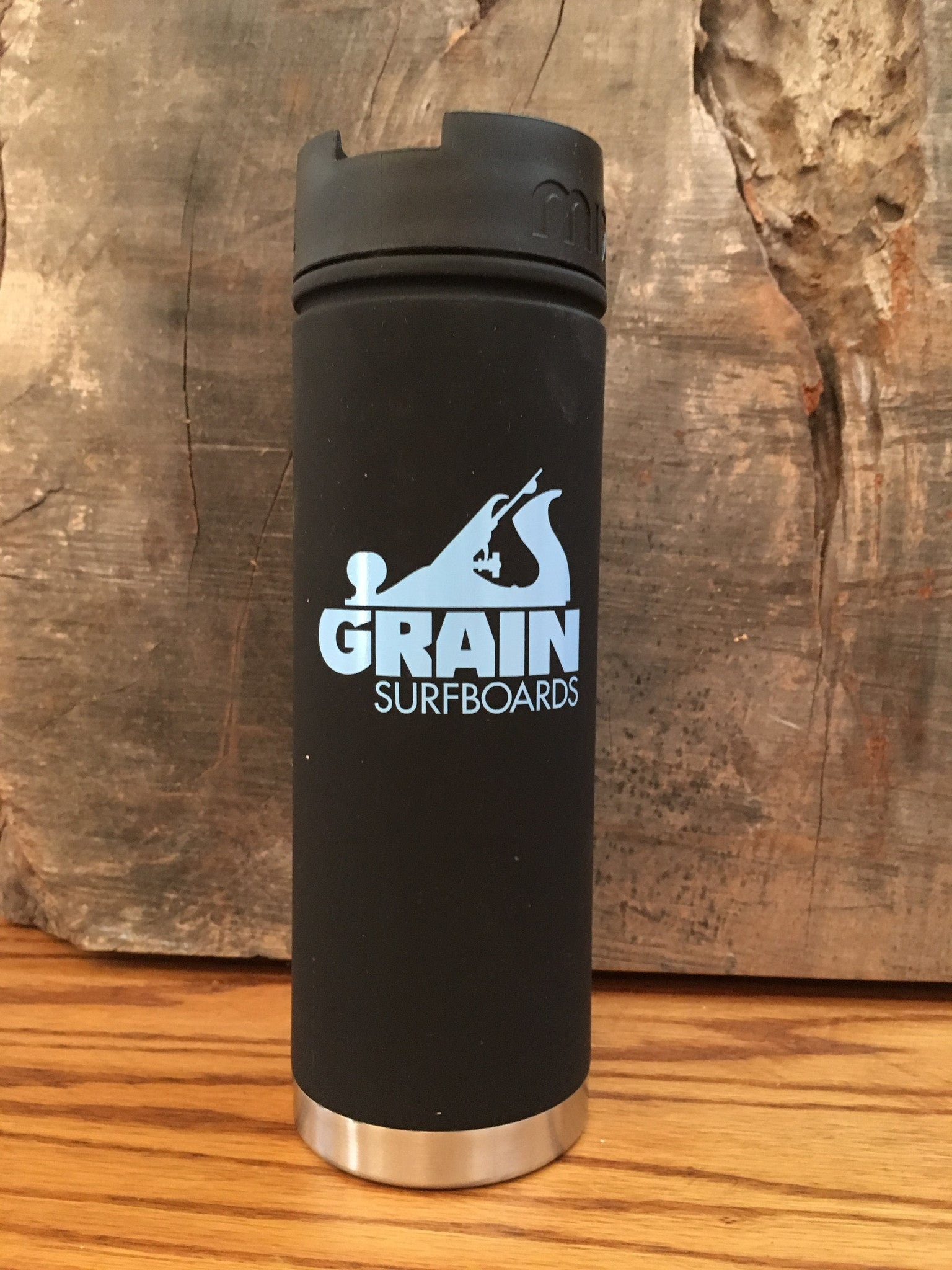 Mizu Thermos with Grain Logo