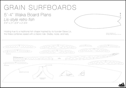 Frameable Board Plans As Art