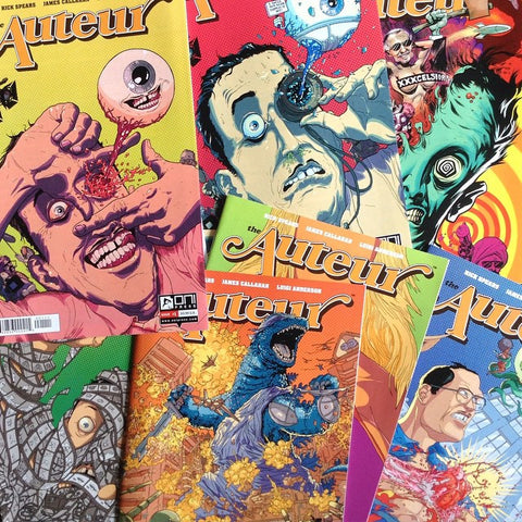 The Auteur vol.1 issues