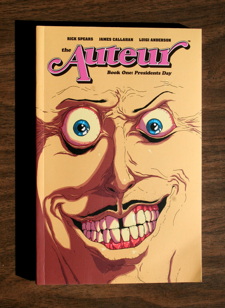 The Auteur vol.1 trade paperback