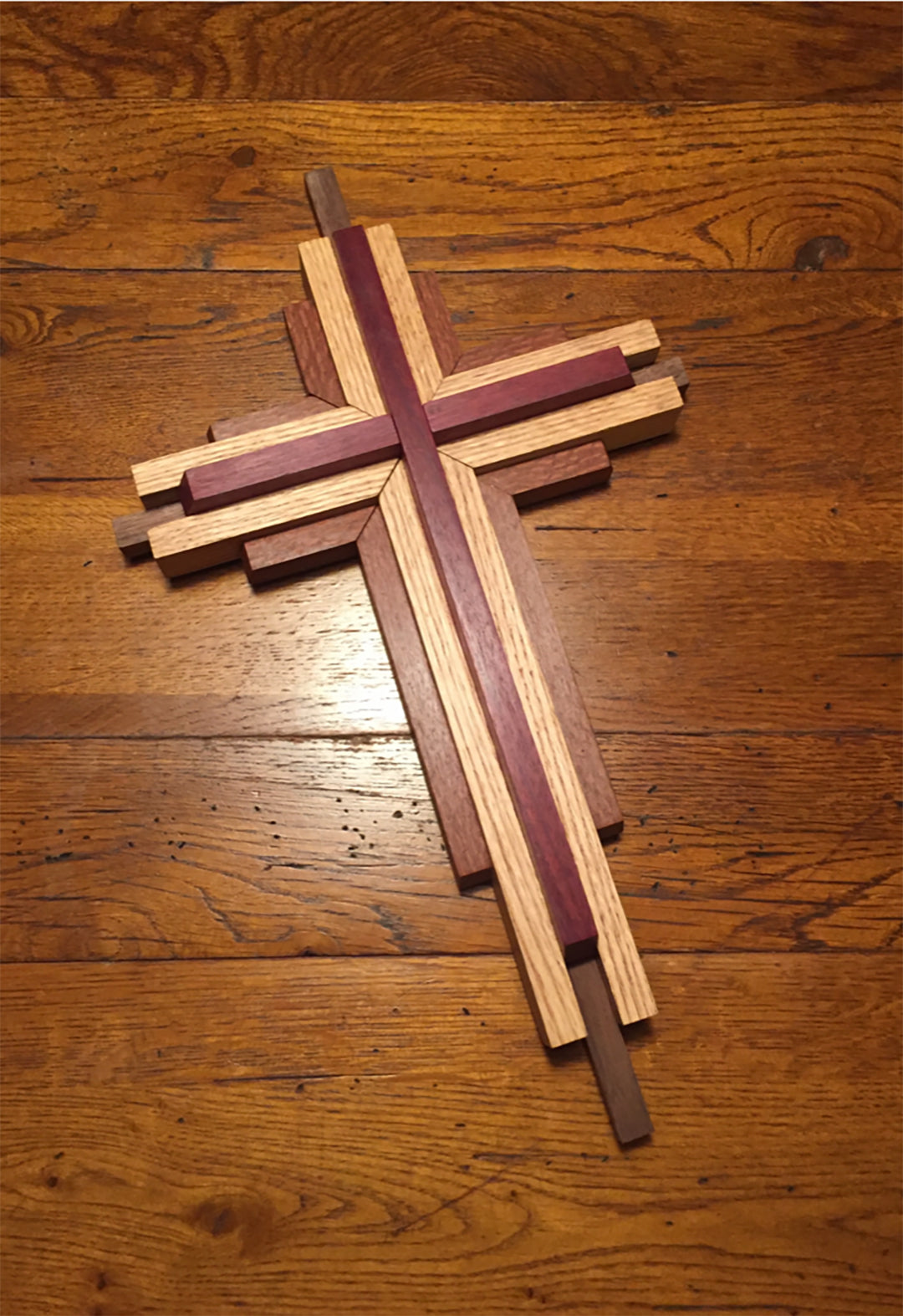 Nine-inch cross from Barry Issbernernch
