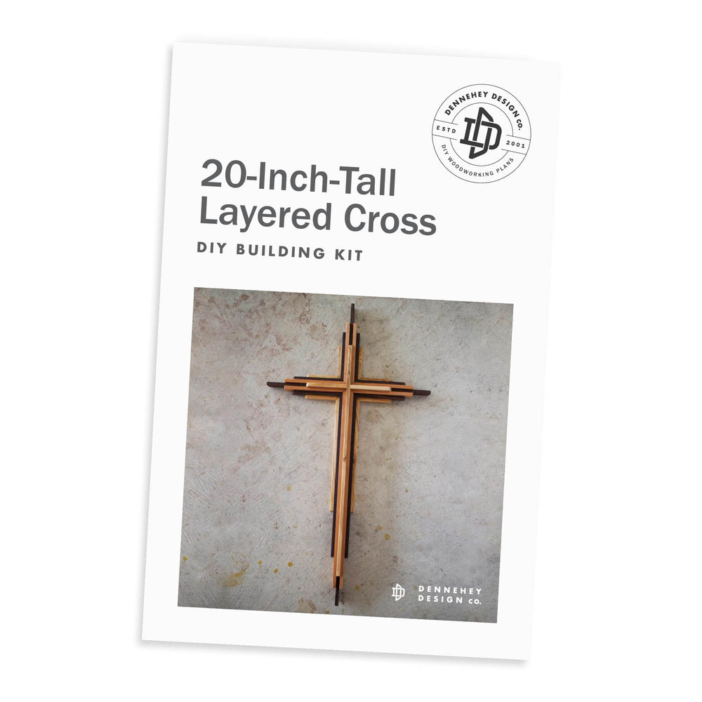 20-inch Layered Cross Build Kit