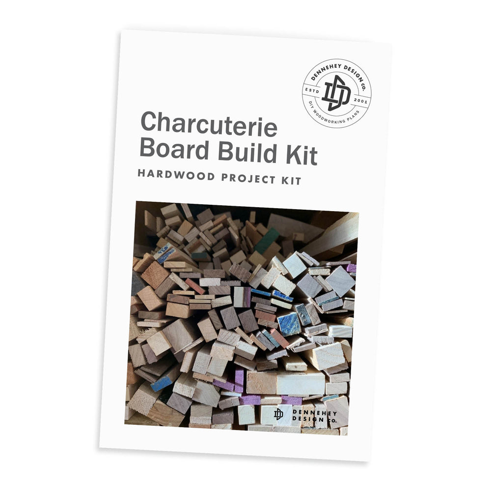 Charcuterie Board Hardwood Build Kit
