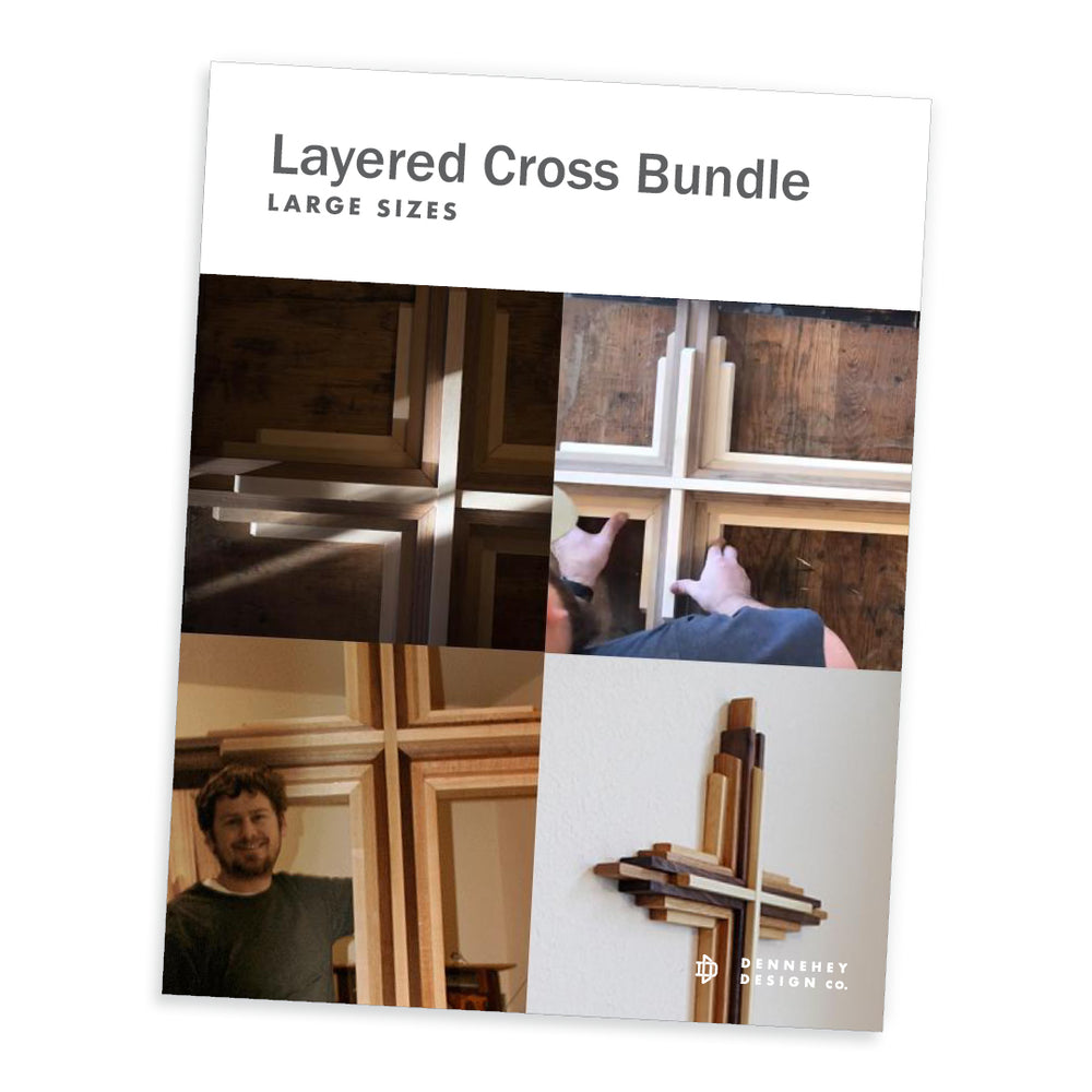 Large Cross Construction Plans