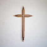 Layered Wooden Cross | 20-inches tall
