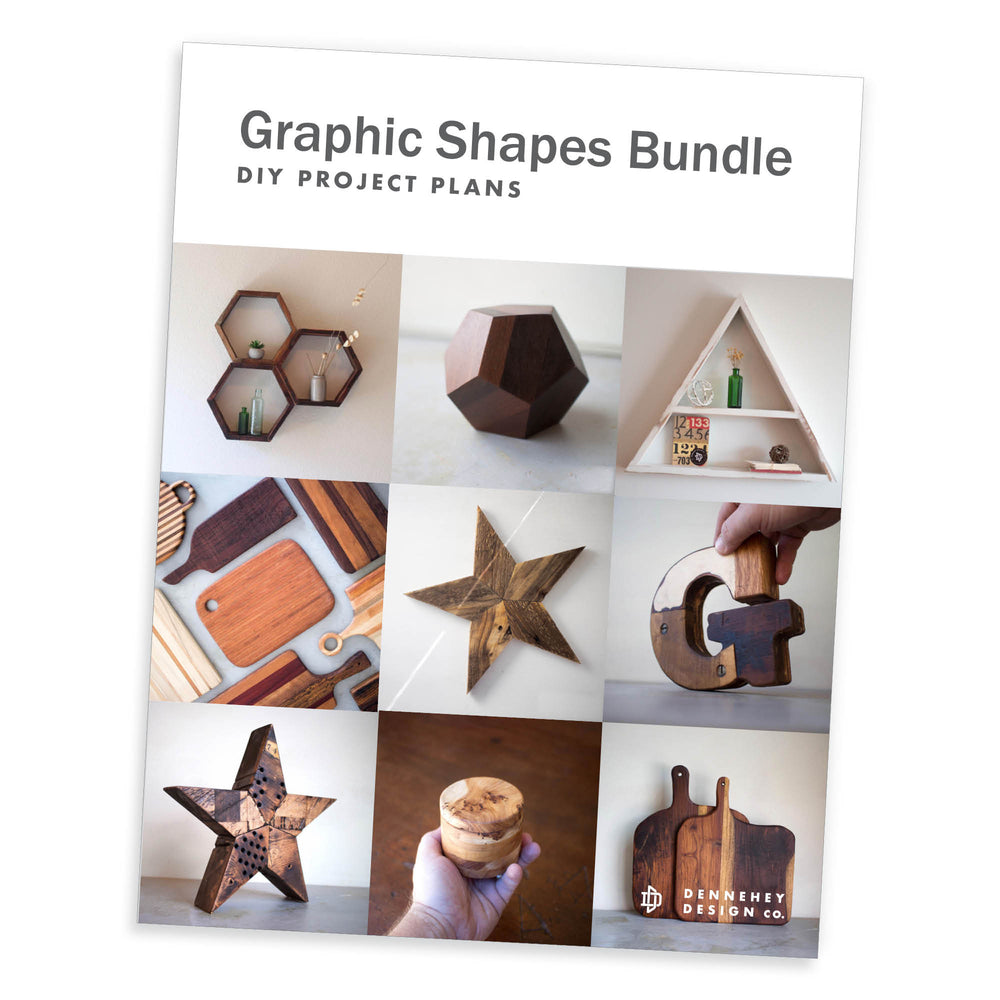 Graphic Shapes Project Plan Bundle