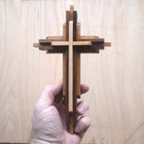 DIY wood Cross kits