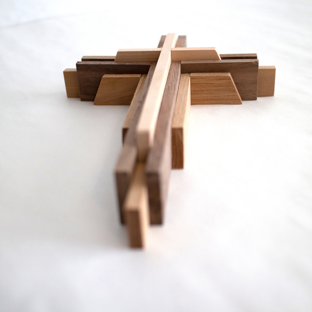 wood cross craft
