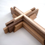 wood cross design