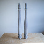 Antique Grey Piano Legs