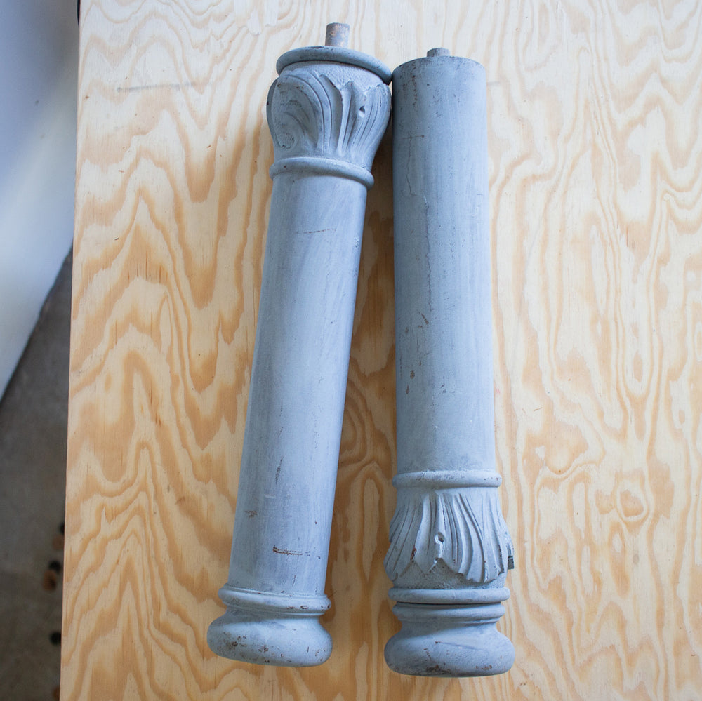 Antique Carved Piano Legs
