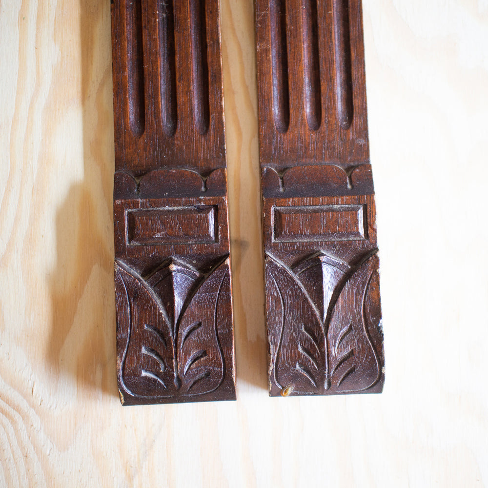 Carved Trim From Antique Piano