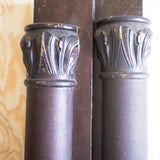 Pair of Antique Piano Parts with Carved features
