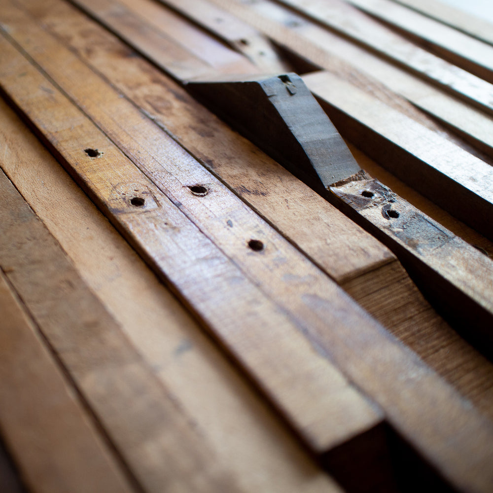 Wood From Antique Piano Actions