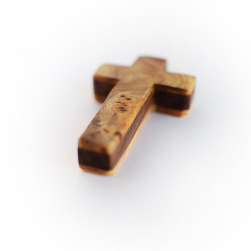 Wooden Pocket Crosses