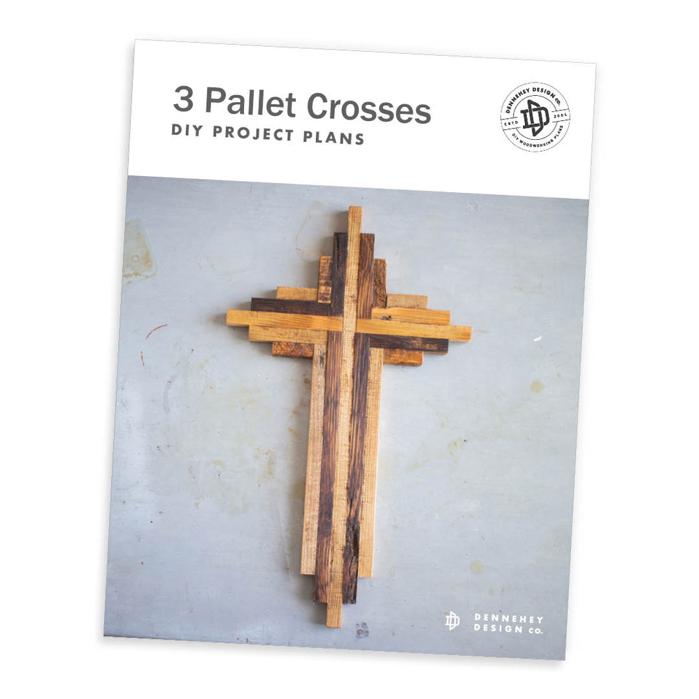Pallet Wood Cross Project Plans | Set of 3