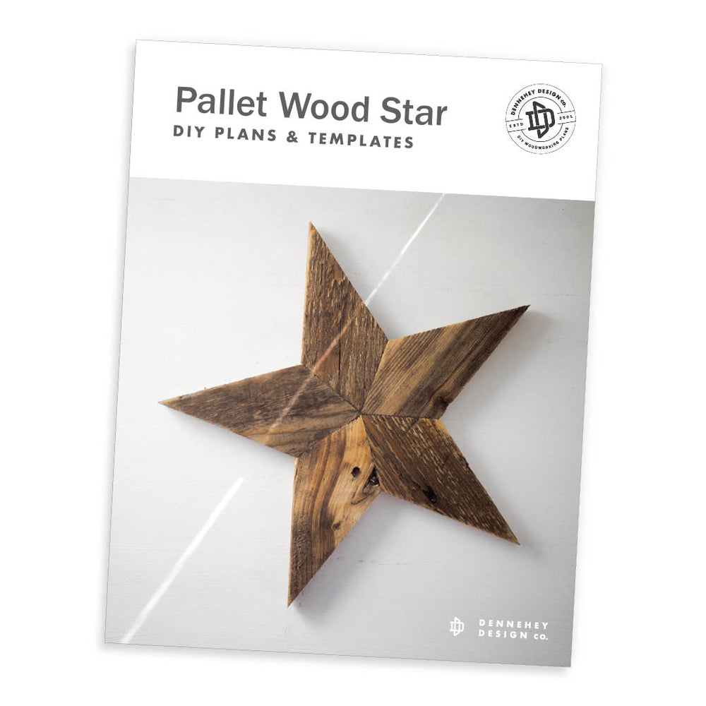 Pallet Wood Star DIY Plans and Templates