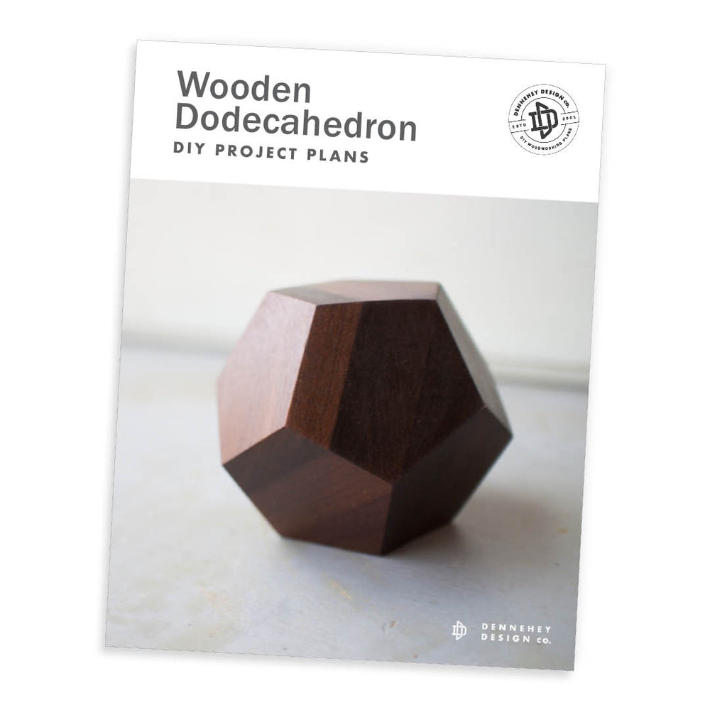 Wooden DIY Plans for Dodecahedron