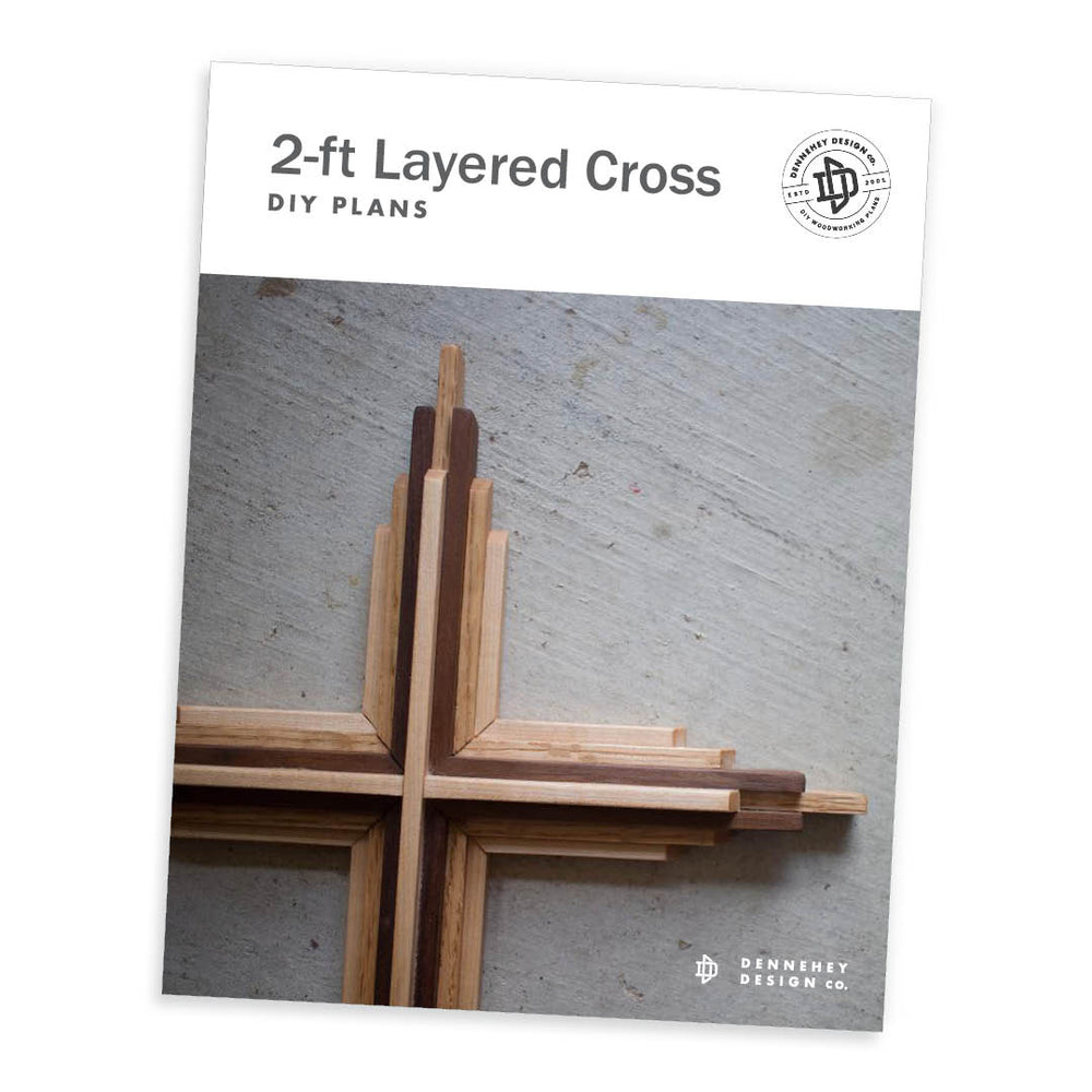 Two-Foot-Tall DIY Wooden Cross Plans