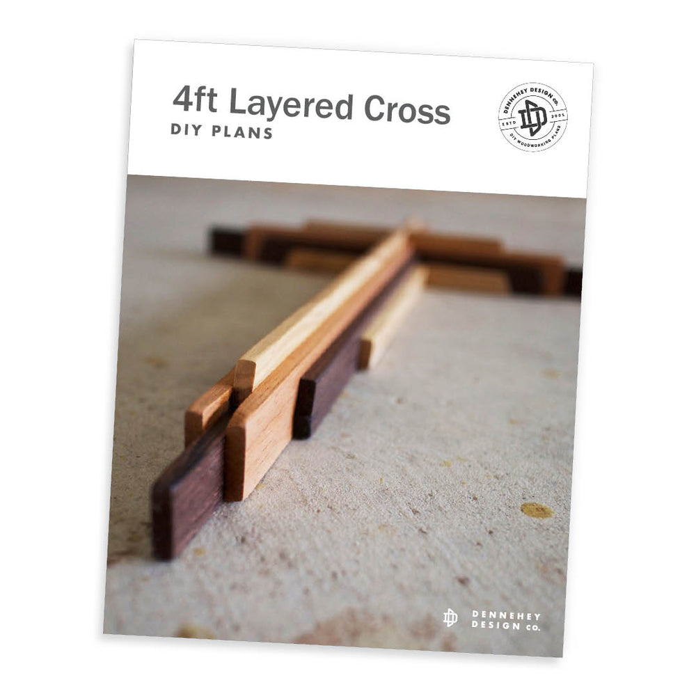 Four-Foot-Tall DIY Wooden Cross Plans