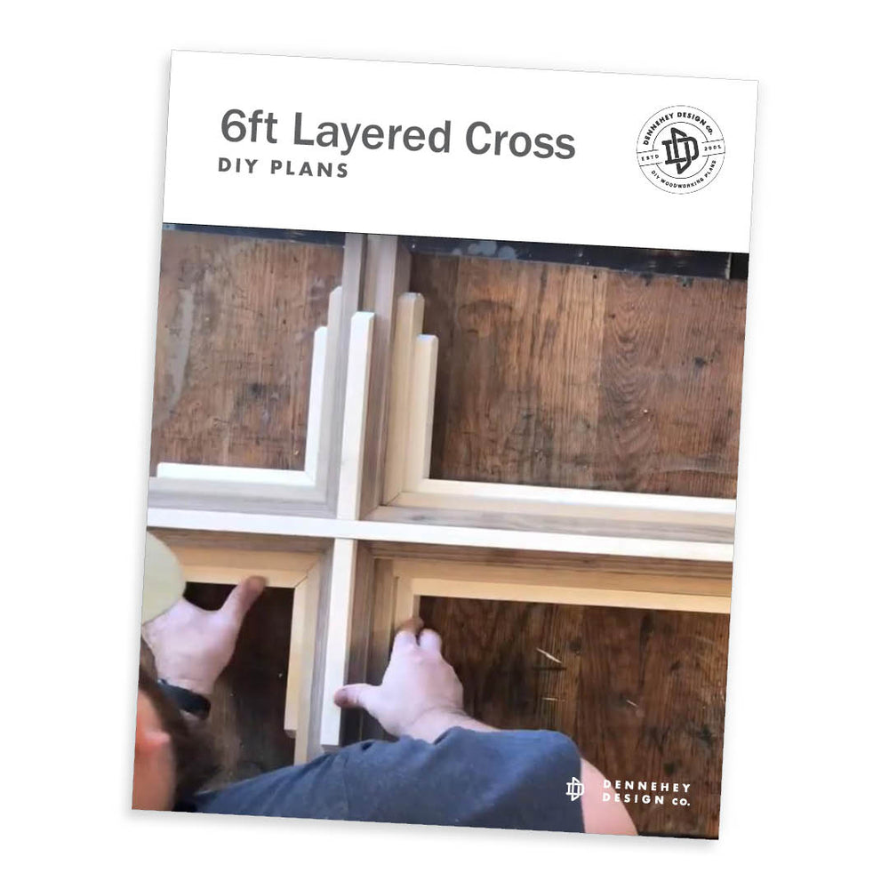 Plans to build a wooden cross
