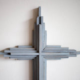Distressed paint cross