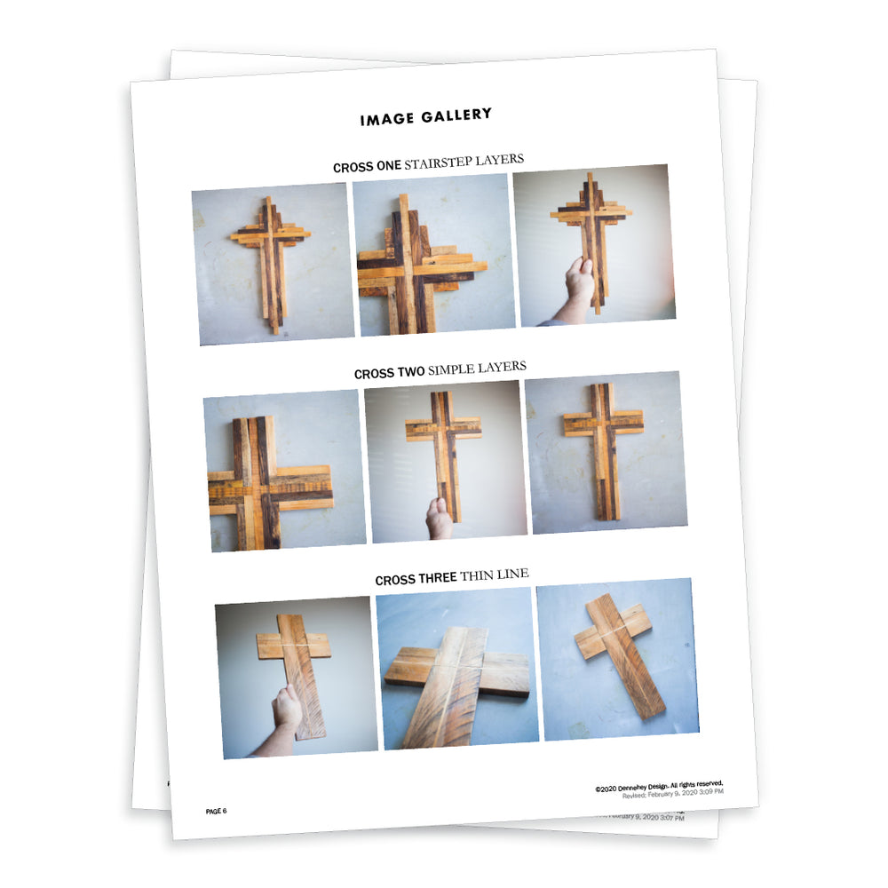 Pallet Wood Cross DIY Project Plans