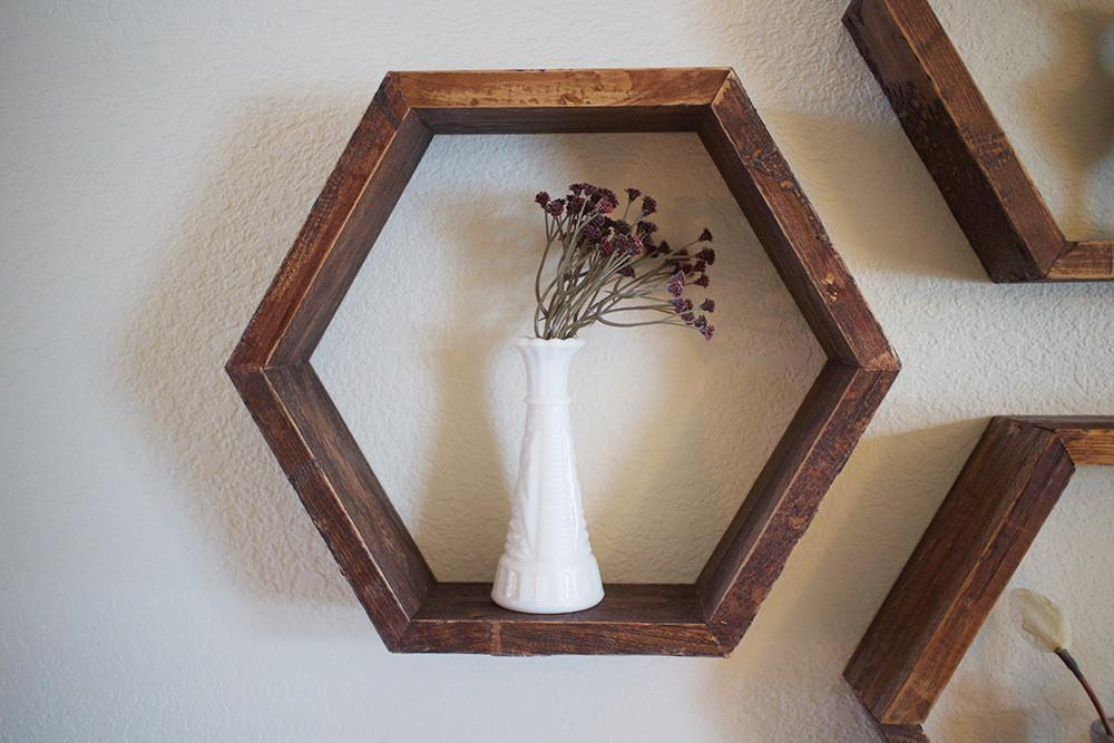 where to buy hexagon shelves honeycomb shelves