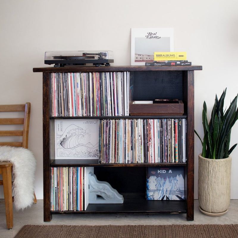 turntable stand record shelving lp stand vinyl case albums