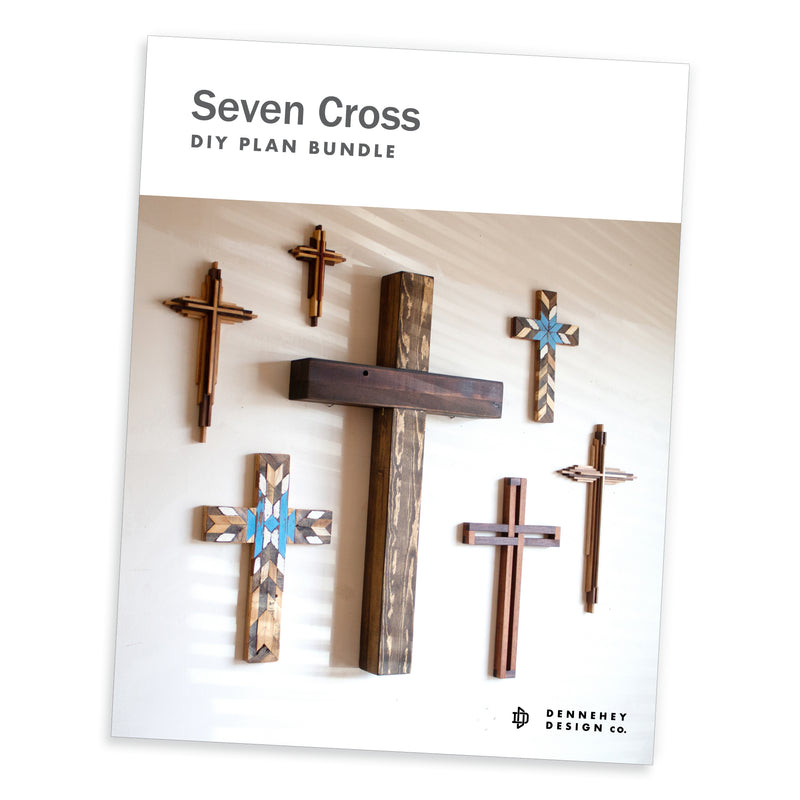 Seven Woodworking Project Wood Crosses