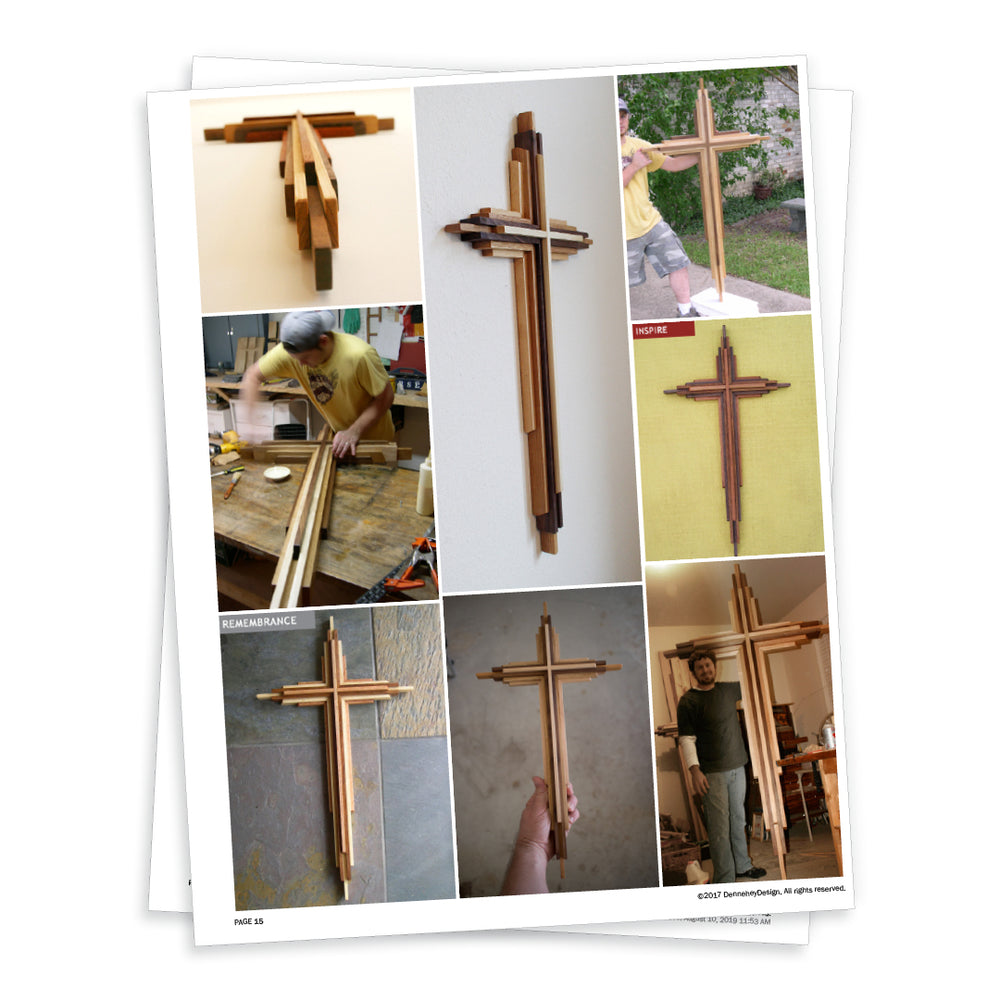 diy wood projects cross