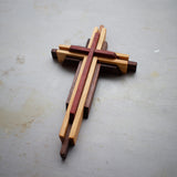 Decorative wood cross