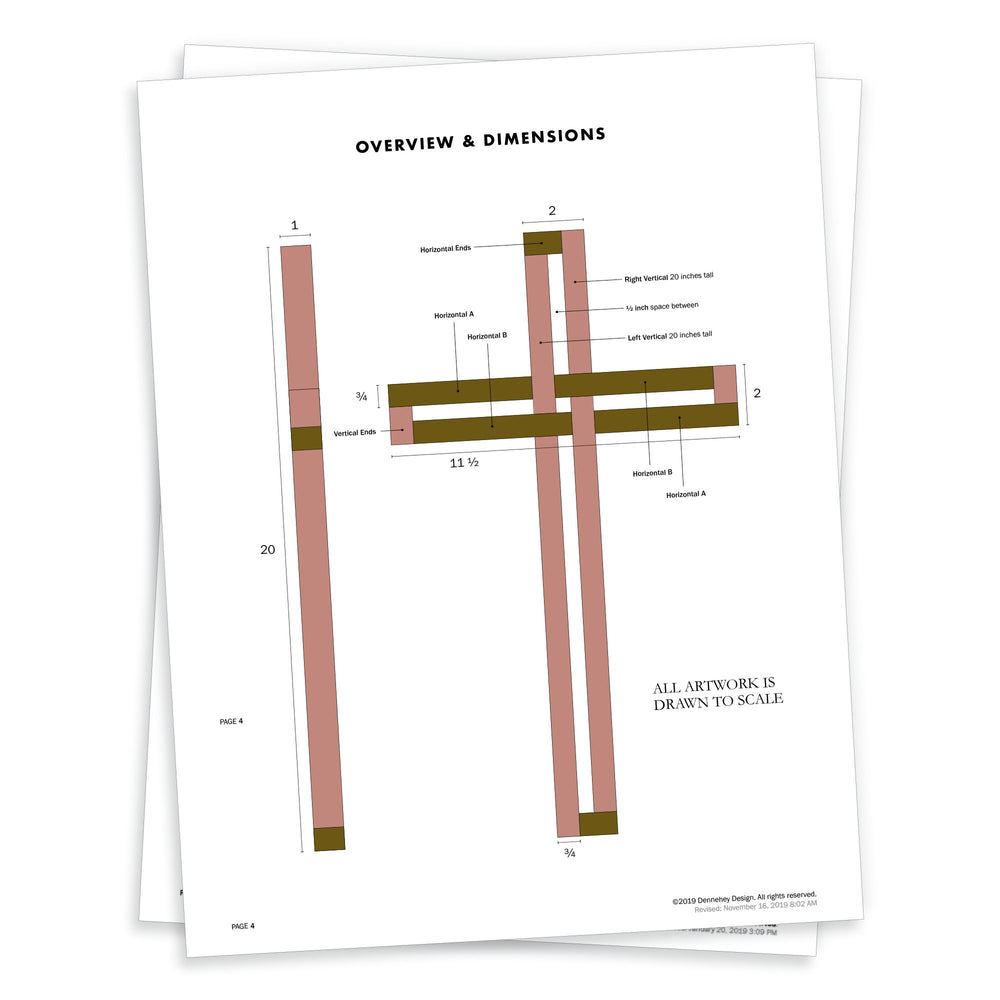 How To Build A Wood Cross