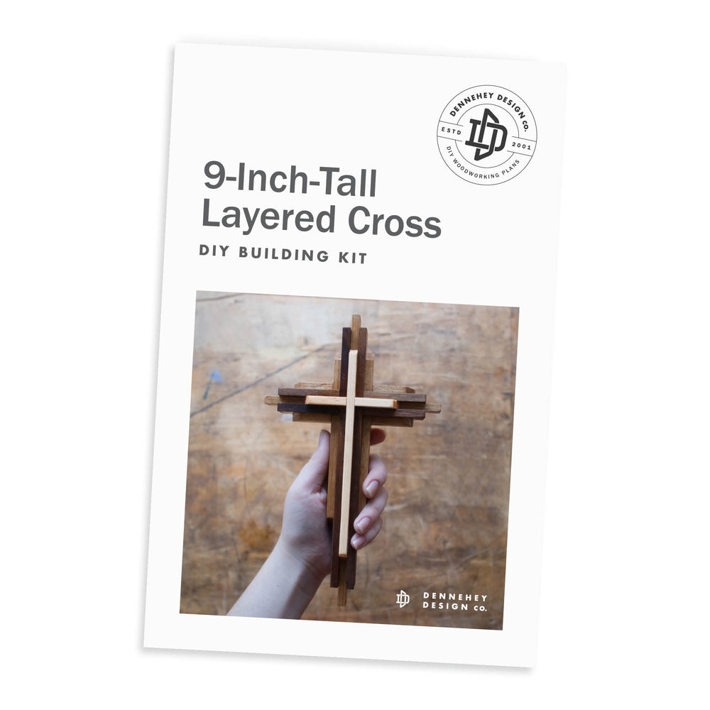 9-inch Layered Cross Build Kit