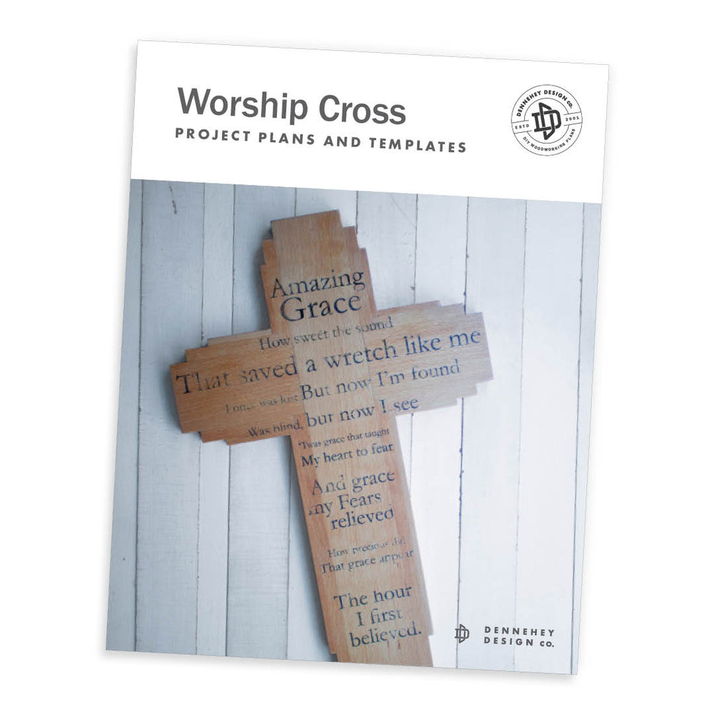 Worship Cross Project Plans & Transfer Templates