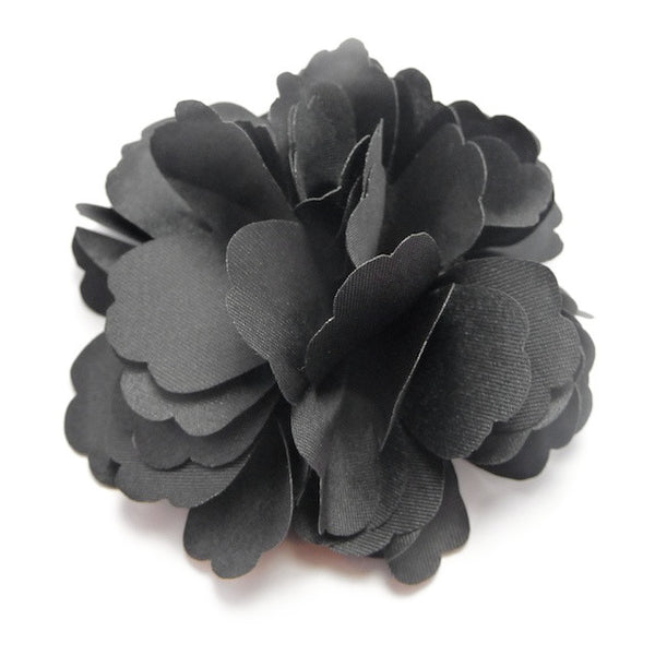 Silk Flower Black