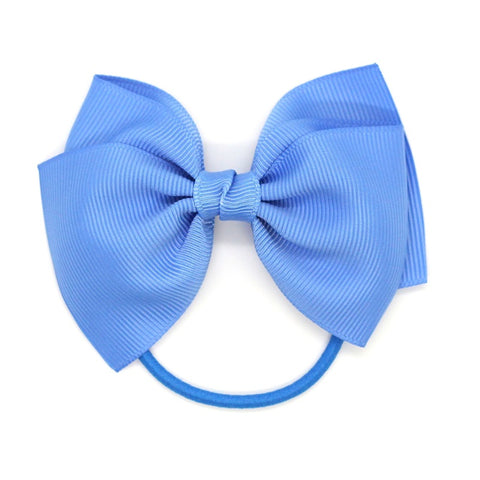 Medium Bow Elastic - Capri Blue