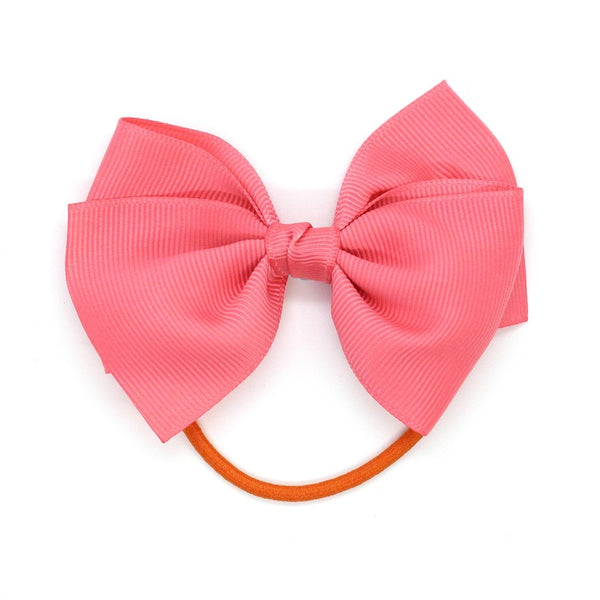 Medium Bow Elastic - Coral