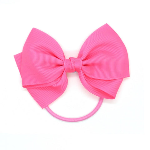Medium Bow Elastic - Passion Fruit