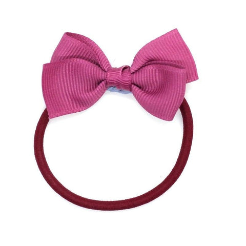 Small Bow Elastic - Victorian Rose