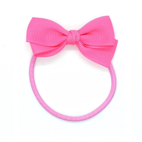 Small Bow Elastic - Passion Fruit