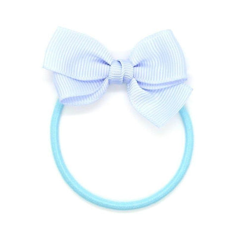 Small Bow Elastic - Pastel Blue