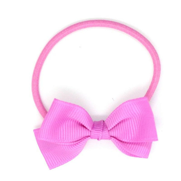 Small Bow Elastic - Pink