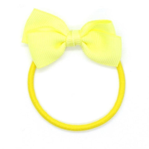 Small Bow Elastic - Baby Maize