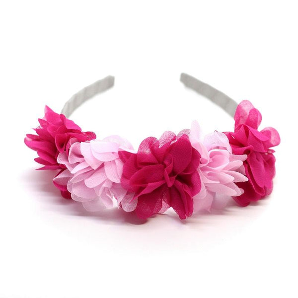 Flower Crown - Light Pink and Hot Pink