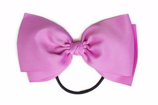 Large Bow Elastic - Pink
