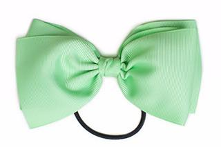 Large Bow Elastic - Mint