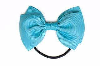 Medium Bow Elastic - Misty Turquoise