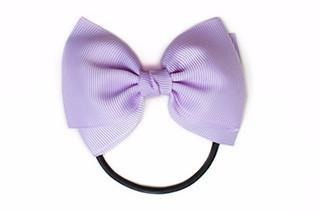 Medium Bow Elastic - Light Purple