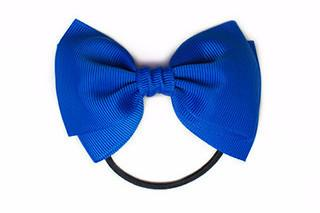 Medium Bow Elastic - Electric Blue